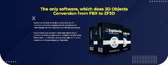 explaindio 3d objects converter