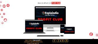 explaindio profit club