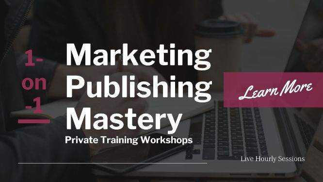 marketing publishing mastery private training workshops featured banner