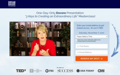 Mary Morrissey – Free Online Masterclass Nov 07, 2020