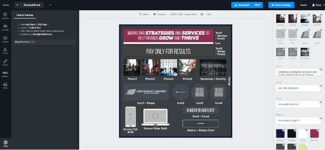 relaythat review - personal brand layout - workspace aset