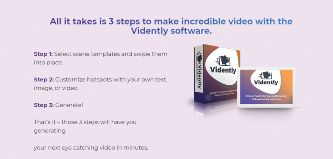 vidently video marketing software
