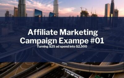 Affiliate Marketing Campaign Example #01 | Turned $25 Into $2,500