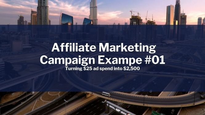 affiliate marketing campaign example #01 v2