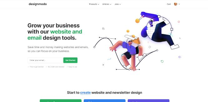 designmodo review homepage