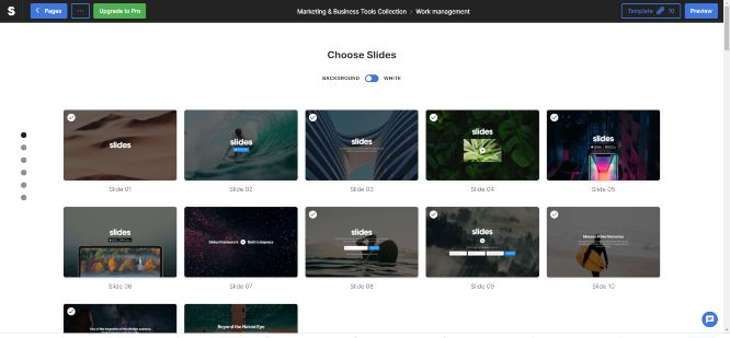 designmodo review slides app dashboard