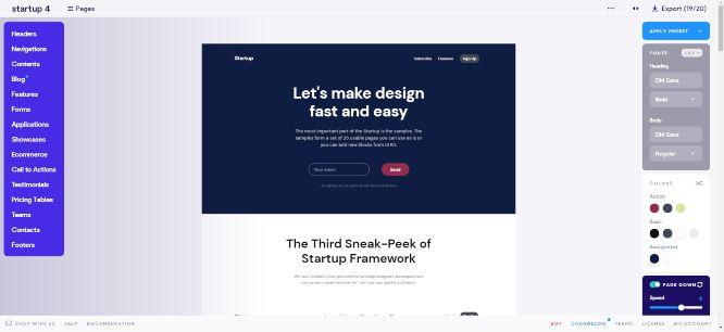 designmodo review startup app dashboard