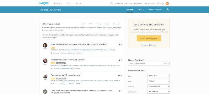 keyword research importance - moz inner forum