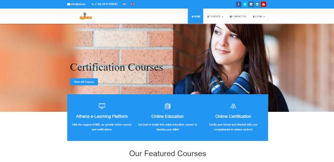 athena - online learning portals