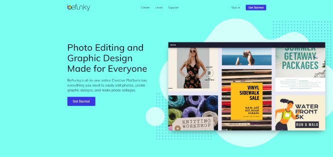 befunky online graphic design tools