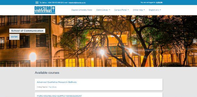 daystar university - online learning portals