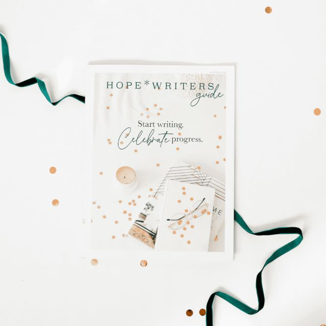 hope writers launch guide