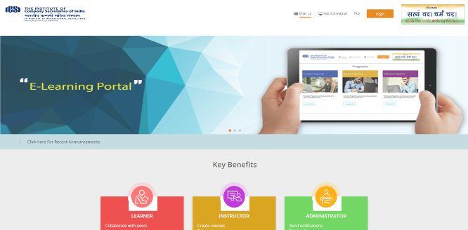 icsi - online learning portals