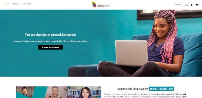 international open academy - online learning portals