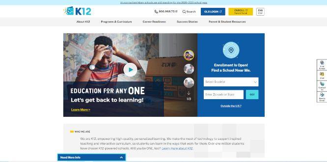 k12 - online learning portals