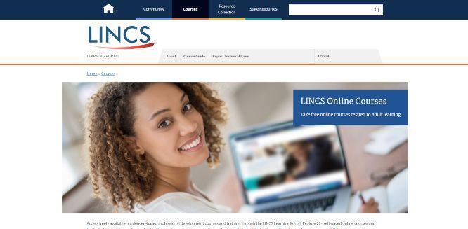 lincs - online learning portals