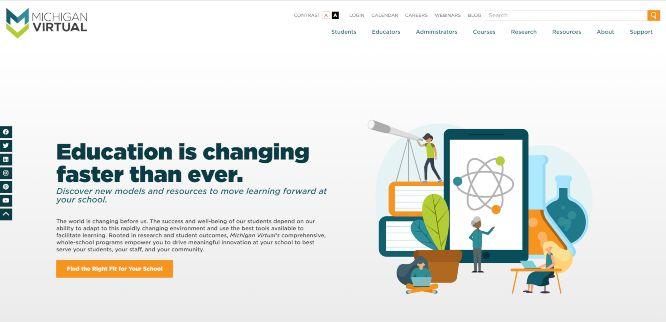 michigan virtual - online learning portals