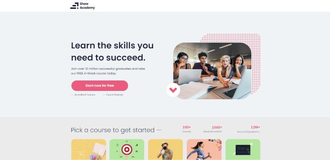 shaw academy - online learning portals