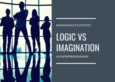 silhouette-confident-businesspeople - Logic vs imagination in entrepreneurship