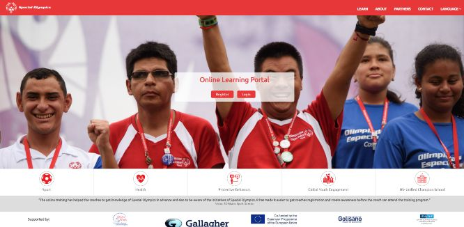 special olympics - online learning portals