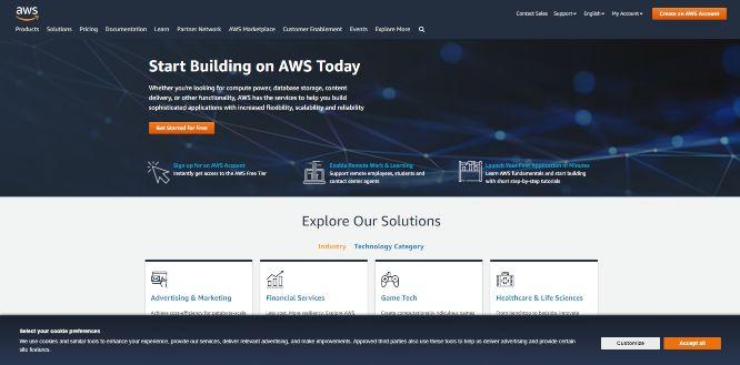 amazon - cloud backup storage hosting services v2