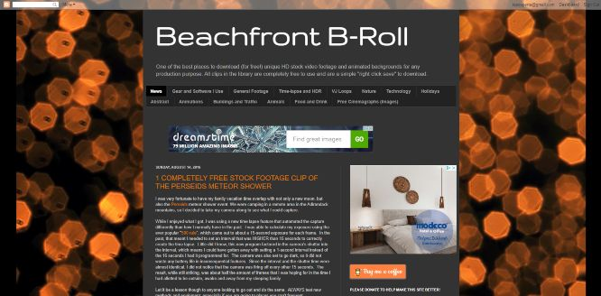 beachfront b-roll - free stock videos