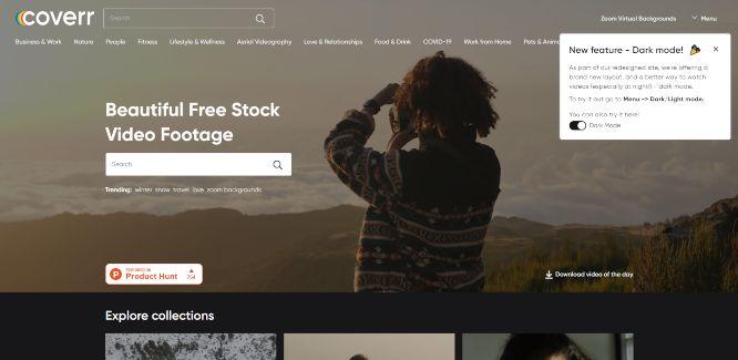 coverr - free stock videos
