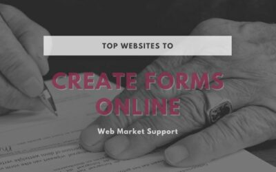 Top 3 Websites To Create Forms Online