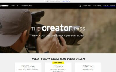CreativeLive | Creator Pass Deal And More