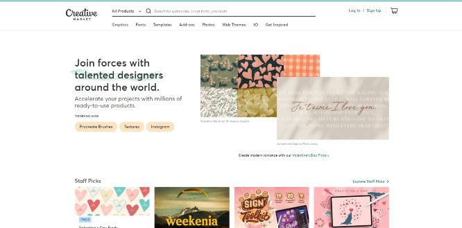 creativemarket - design marketplaces