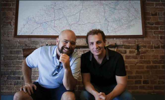 dan meadors and dylan frost in front of a wall - the wholesale formula review