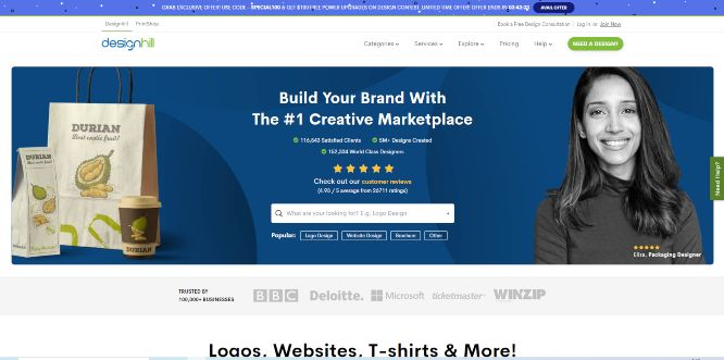 designhill - design marketplaces
