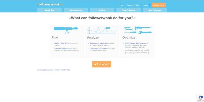 followerwonk - social media tools