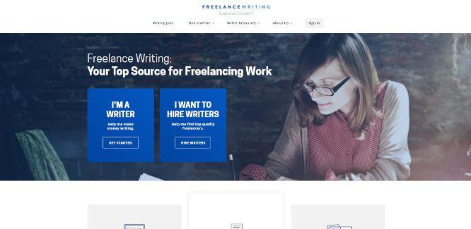 freelancewriting - hiring and outsourcing platforms