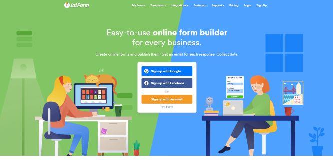 jotform - create forms online