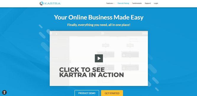 kartra - sales funnel builders