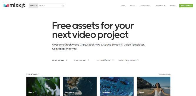 mixkit - free stock videos