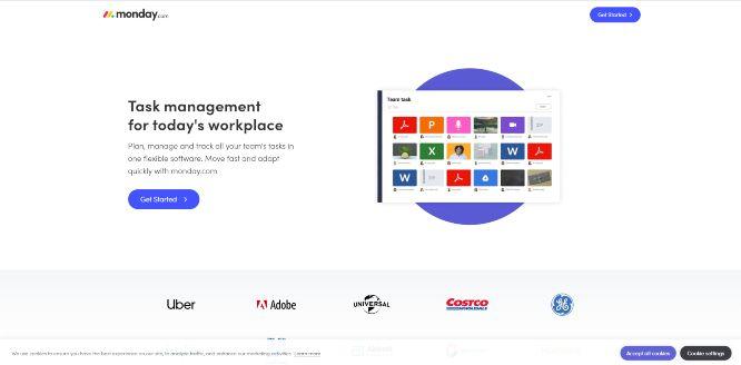 monday - work management tools