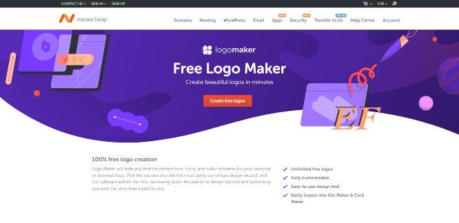 namecheap - logo makers