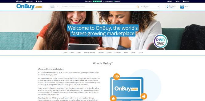 onbuy marketplace review about page
