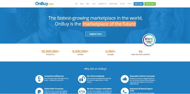 onbuy marketplace review - selling
