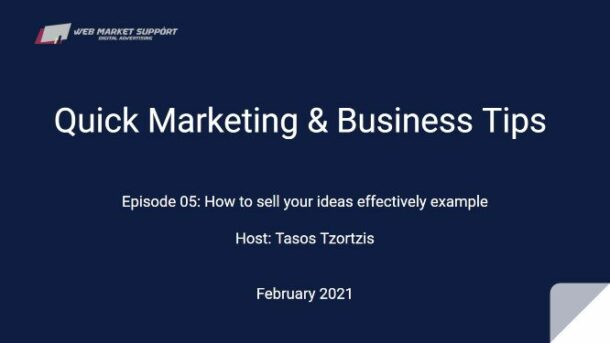 quick marketing & business tips episode 05 featured