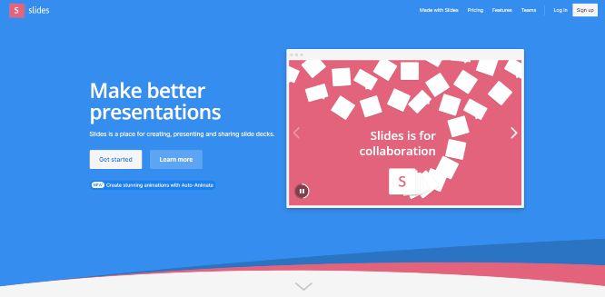 slides - presentation sharing platforms