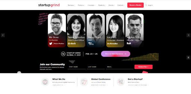 startup grind - online entrepreneurial communities