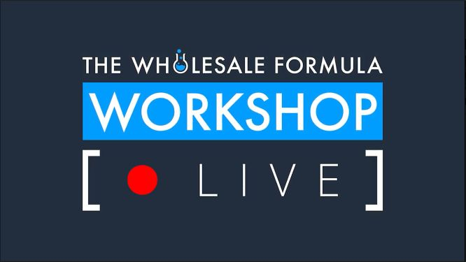 the wholesale formula review - workshop live 2020
