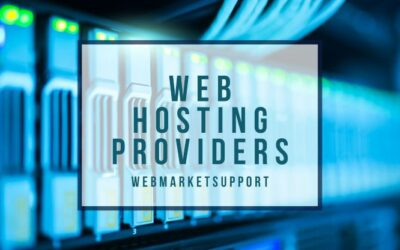 5 Trusted Web Hosting Providers