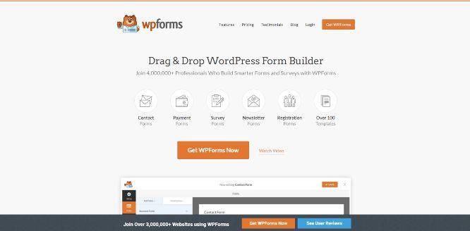 wpforms - create forms online
