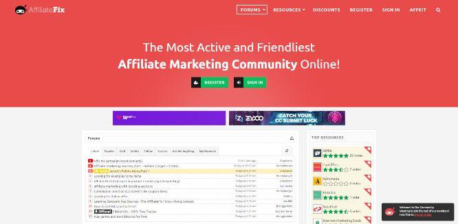 affiliatefix - marketing communities