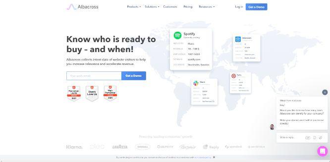 albacross - lead generation tools & software