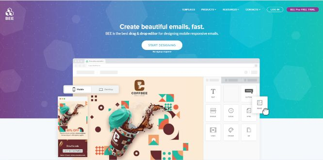 beefree - email newsletter templates & builders v2